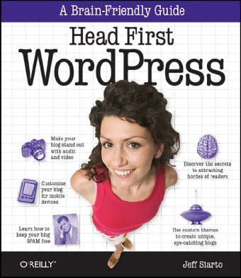 Head First WordPress Cover image
