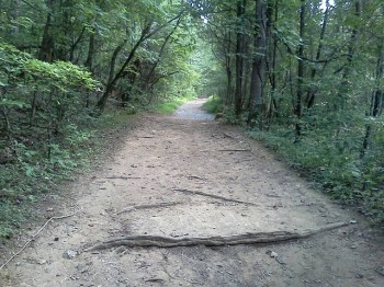 Uphill trail
